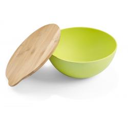 Pojemna miska z bambusową przykrywką - AS 16512
