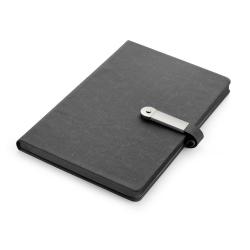 Notes formatu A5 w twardej oprawie z 80 kartkami w linie - 17690