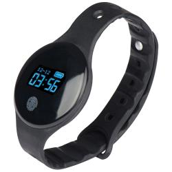 Smart watch wykonany z silikonu - 4076303