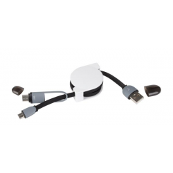 Ładowarka USB z adapterem - 56-1107234