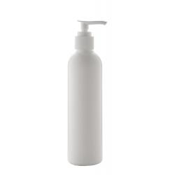 Żel do mycia rąk w białej plastikowej butelce z pompką dozującą, 250 ml, 70% stężenie alkoholu - AP800686