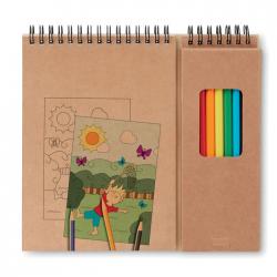 Zestaw do kolorowania składający się z 24 kartek - mo8769-13