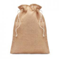 Średnia torba na prezenty z juty - MO9929
