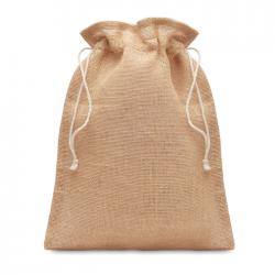 Mała torebka na prezenty z juty - MO9928