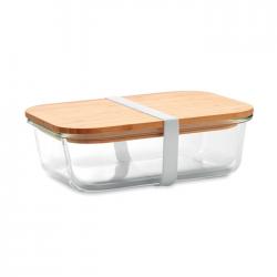 Lunchbox z bambusową pokrywką - MO9962