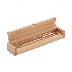Długopis bambusowy w pudełku - MO9912