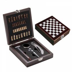 Zestaw do wina z szachami - MA 8403701