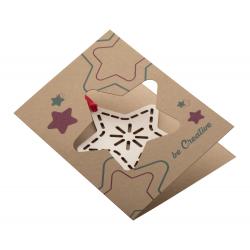 Personalizowana, papierowa kartka świąteczna - AP718645