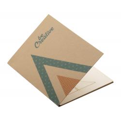 Personalizowana, papierowa kartka świąteczna - AP718646-A