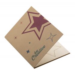Personalizowana, papierowa kartka świąteczna - AP718646-B