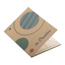Personalizowana, papierowa kartka świąteczna - AP718646-C