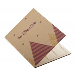 Personalizowana, papierowa kartka świąteczna - AP718646-D