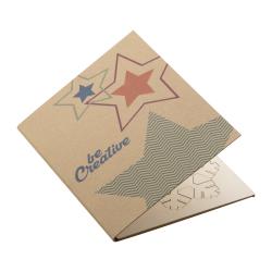 Personalizowana, papierowa kartka świąteczna - AP718646-F