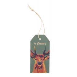 Personalizowana karta prezentowa z naturalnym sznurkiem - AP718655