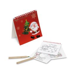 Kolorowanka z 25 rysunkami z motywem świątecznym - ST 93443