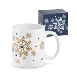 Kubek ceramiczny  z motywem świątecznym, 350 ml - ST 93824