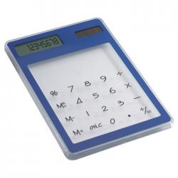 Przezroczysty, 8-cyfrowy kalkulator dotykowy - it3791-04