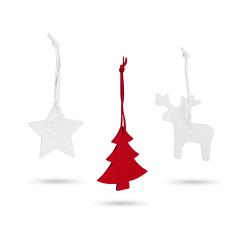 Zestaw filcowych dekoracji świątecznych - ST 99342