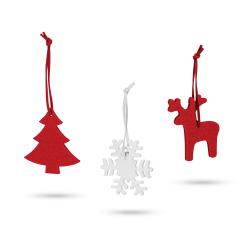 Zestaw filcowych dekoracji świątecznych - ST 99341