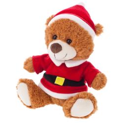 Pluszowy miś świąteczny - HE203