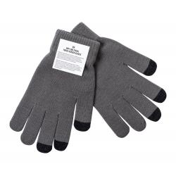 Antybakteryjne rękawiczki z końcówkami do ekranów dotykowych na trzech palcach z akrylu - AP721813