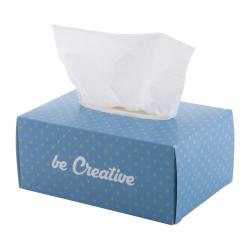 100 sztuk 3-warstwowych chusteczek higienicznych w personalizowanym kartoniku - AP718647