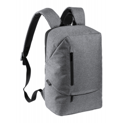 Antybakteryjny plecak z wyściełaną przegrodą na laptop (15'') - AP721814