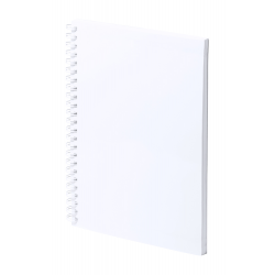 Antybakteryjny, laminowany notes spiralny z 80 gładkimi kartkami - AP721764