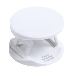 Antybakteryjny, plastikowy uchwyt na telefon z samoprzylepną podstawą - AP721805