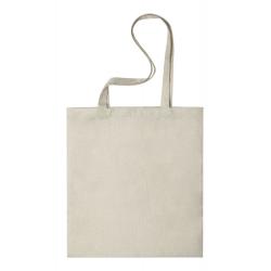 Torba na zakupy w naturalnym kolorze, z poliestru soft touch - AP721625