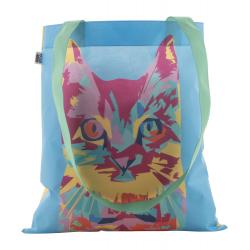 Personalizowana, torba z włókniny RPET z długimi uchwytami, 80 g/m² - AP718900