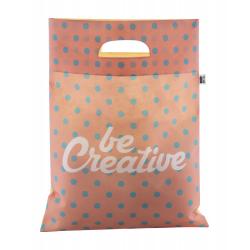 Personalizowana, torba z włókniny RPET z wyciętymi uchwytami, 80 g/m² - AP718901