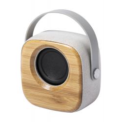 Głośnik bluetooth w obudowie z bambusa i ekologicznego plastiku ze słomy pszenicznej - AP721820