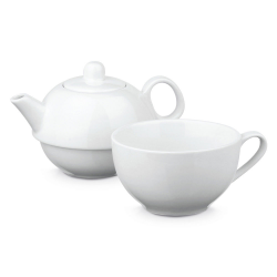 Porcelanowy zestaw 2 w 1 – imbryk 430 ml - ST 93869