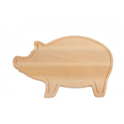 Deska do krojenia z naturalnego drewna - 56-0308302