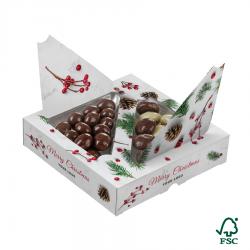 Draże w czekoladzie - 0228/Xmas