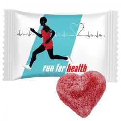 Galaretka w cukrze w kształcie serca - Nr kat.: 0009/HEART