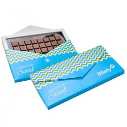 Tabliczka czekolady z indywidualnym tekstem - Nr kat.: 0593/0593S