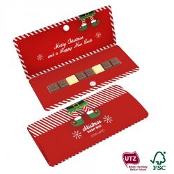 Tabliczka czekolady z indywidualnym tekstem - 0601/0601S/Xmas