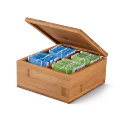 Pudełko na herbatę z bambusa - ST 93996