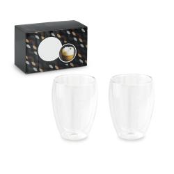 Zestaw dwóch szklanych kubków - ST 93895