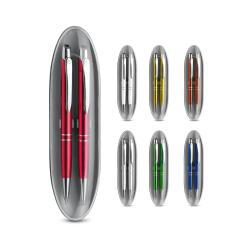 Zestaw, pióro kulkowe i ołówek mechaniczny - ST13517
