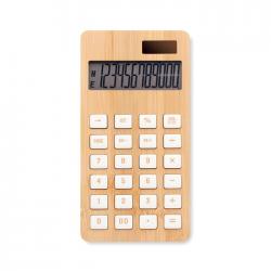 12-cyfrowy bambusowy kalkulator z podwójnym zasilaniem - MO6216