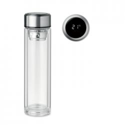 Butelka ze szkła borokrzemianowego o podwójnych ściankach, 390 ml - MO6169