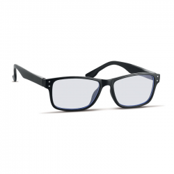 Okulary do monitora z filtrem blokującym niebieskie światło w etui z mikrofibry - MO6230