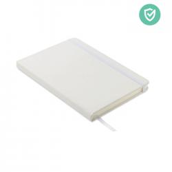 Notatnik A5 z antybakteryjną miękką okładką z PU i 96 kartkami w linię - MO6141