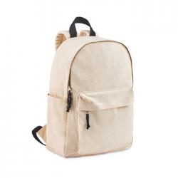 Plecak z płótna 340 gr / m² z wyściełanym tyłem, paskami i uchwytami - MO6203