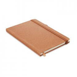 Notatnik A5 w okładce z poliuretanu pochodzącego z recyklingu i 80 kartkami w linię - MO6220