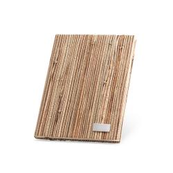Notes A5 w twardej oprawie wykonanej z naturalnych włókien słomy - ST 93275