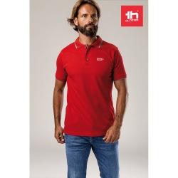 Męski slim fit polo t-shirt...
